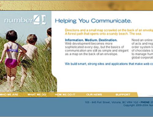 Number 41 Media Website