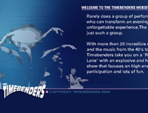 Timebenders Website
